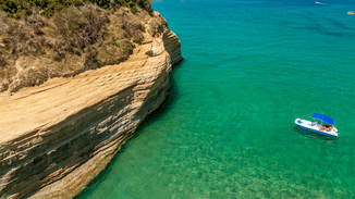 Canal D'amour beach,Corfu island, Greece
