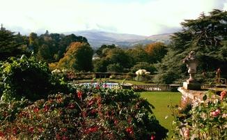 bodnant garden national trust conwy wales